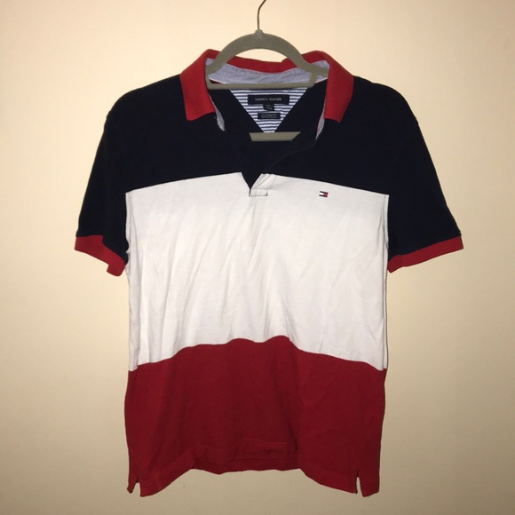 45988f81 Tommy Hilfiger Shirts | Mens Polo Custom Fit | Poshmark